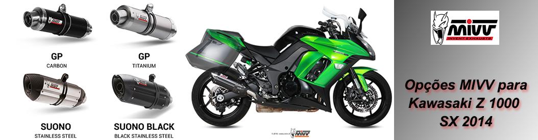 MIVV - KAWASAKI Z 1000 SX 2014